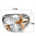 SZ 5-10 Rose Gold Butterfly Ring