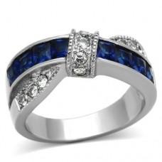 Deep Blue Love Knot