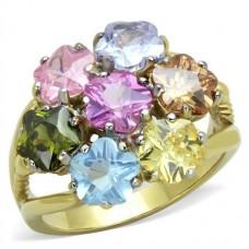 Pastel Flower Ring